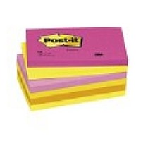 3m post it 655 tutti frutti notes 76 x 127 mm 6 pack photo