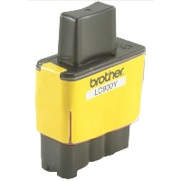 gnisio ink brother lc900y yellow photo