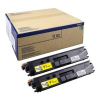 gnisio brother toner twin pack gia l8350cdw yellow oem tn329ytwin photo