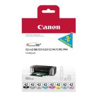 gnisio melani canon cli 42 8ink multi pack me oem 6384b010 photo