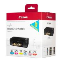 gnisio melani canon pgi 29 multi pack me oem 4873b005 photo