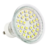 lamptiras led gu10 30 led smd 3528 230 v warm white photo