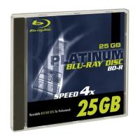 platinum blu ray bd r 4x 25 gb jewel case 1pcs photo