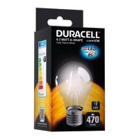 lamptiras duracell filament led e27 43w 2700k photo