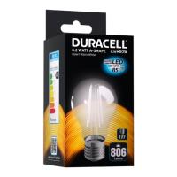 lamptiras duracell filament led e27 62w 2700k photo