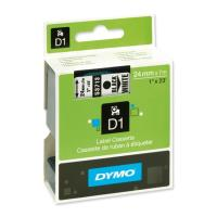 dymo etiketes d1 24mm black white 53713 s0720930 photo