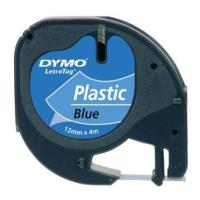 dymo xartotainia letratag blue 12mm x 4 m 91225 s0721700 photo