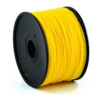 gembird hips plastic filament gia 3d printers 175 mm golden yellow photo