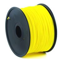 gembird pla plastic filament gia 3d printers 175 mm yellow photo