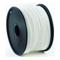 gembird pla plastic filament gia 3d printers 3 mm white photo