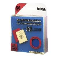 hama cd dvd thikes pp polypropylenio 50pcs color photo