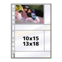 hama photo sleeves a4 gia ring binder album 13 x 18 diafano photo