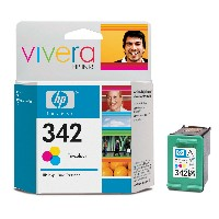 gnisio melani hewlett packard no 342 vivera trixromo tri colour me oem c9361ee photo