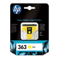 gnisio melani hewlett packard no 363 kitrino yellow me oem c8773ee photo