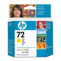 gnisio melani hewlett packard no 72 vivera kitrino yellow 69ml me oem c9400a photo