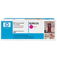 gnisio hewlett packard magenta toner me oem q3963a photo