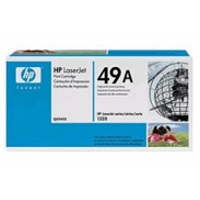 gnisio hewlett packard black toner no 49a me oem q5949a photo