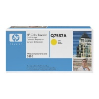 gnisio hewlett packard yellow print cartridge me colorsphere toner me oem q7582a photo