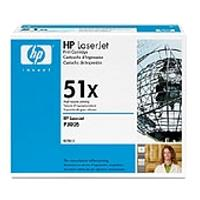 gnisio hewlett packard black toner me oem q7551x photo