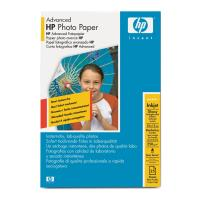 gnisio xarti hp a6 advanced glossy photo paper 25 fylla me oem q8691a photo