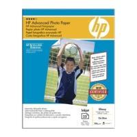 gnisio xarti hewlett packard advanced photo paper gloss 13x18 25 fylla me oem q8696a photo