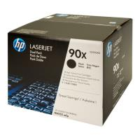 gnisio hewlett packard toner gia lj 600 601dn 601n dual pack black oem ce390xd photo