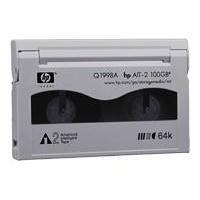 data cartridge hewlett packard ait 2 50 100gb me oem q1998a photo