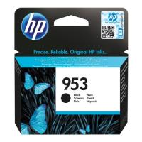 gnisio melani hewlett packard no 953 gia officejet pro 8210 8218 8720 black oem l0s58ae photo