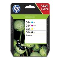 gnisio melani hewlett packard no364 multipack bk c m y 10 sheet 13x18 photopaper oem n9j73ae photo