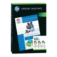 gnisio melani hewlett packard no 933xl value pack 75 sheets a4 me oem cr711ae photo