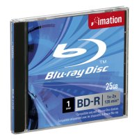 imation blu ray bd r 2x single layer 25gb jewelcase 1pcs photo