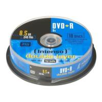 intenso 4311142 dvd r intenso 85gb x8 double layer 4311142 10pcs photo