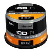 intenso cd r intenso 700mb printable 1801125 50pcs photo