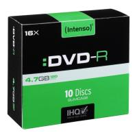 intenso dvd r 47gb x16 sc 4101652 10pcs photo