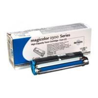 gnisio konicaminolta toner magicolor 2300dl 2300w 2350 cyan hc oem 4576511 photo