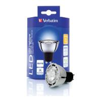 verbatim led par16 gu10 55w 2700k ww 230lm photo