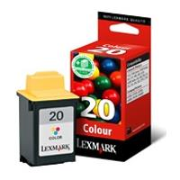 gnisio melani lexmark egxromo color no 20 me oem 15mx120e photo