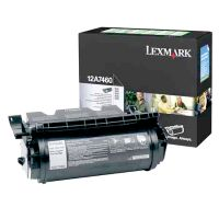 gnisio toner lexmark mayro black me oem 12a7460 photo