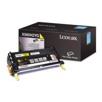 gnisio toner lexmark kitrino yellow high capacity me oem x560h2yg photo