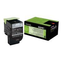 gnisio lexmark toner 80c2hk0gia cx410e de dte cx510de dhe dthe black high capacity oem 80c2hk0 photo