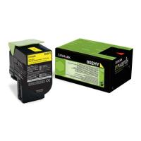 gnisio lexmark toner 80c2hy0gia cx410e de dte cx510de dhe dthe yellow high capacity oem 80c2hy0 photo