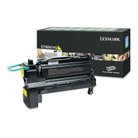 gnisio lexmark toner c792x1yg high capacity yellow gia c792de oem c792x1yg photo