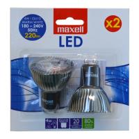 maxell led 4w gu10 cool white 2tem photo