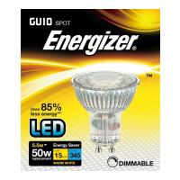 lamptiras energizer led spot gu10 55w 3000k dimmable photo