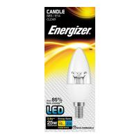 lamptiras energizer led candle clear e14 34w 2700k photo