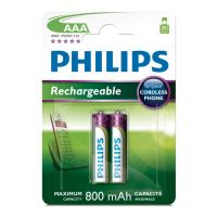 mpataria philips rechargeable multi life 3a 800mah 2tem photo