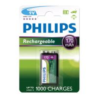 mpataria rechargeable philips 9vb1a17 10 9v 170mah 1 tem photo