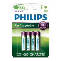 mpataria rechargeable philips 3a 700mah 4 tem photo