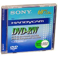 sony dvd rw 8cm 28gb 60min jewel case 1pcs photo