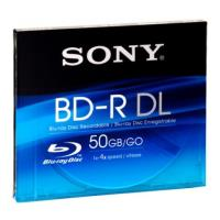 sony blu ray disc 50gb bd r 4x jewelcase singlepack 1pcs photo